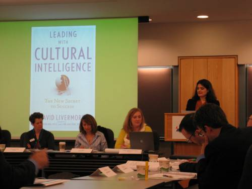 'First there was IQ, then there was EQ, now there is CQ - Cultural Intelligence' says Christina Parisi, Executive Editor.