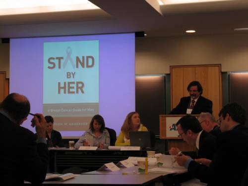Barry talks about one of our lead titles, Stand By Her, out October 2009 in Breast Cancer Awareness Month.