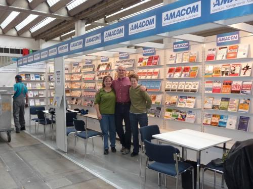 The whole AMACOM team at Frankfurt.
