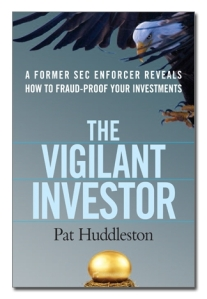Second draft of Vigilant Investor Cover where eagle swoops on golden egg