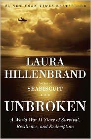 Jacket, Unbroken by Laura Hillenbrand