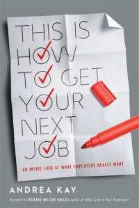 Alternate book cover image, Checkmarks, This is How to Get Your Next Job