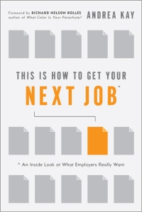 Alternate book cover image, Grey Icon, This is How to Get Your Next Job