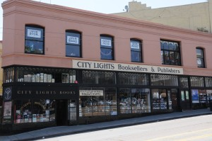 Photo of City Lights Bookstore exterior