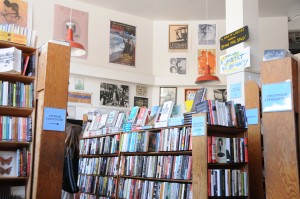 Photo of City Lights Bookstore interior