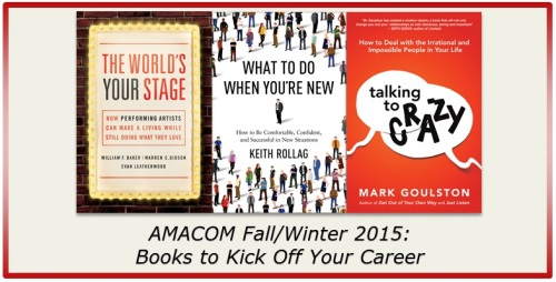 BOOKS TO KICK OFF YOUR CAREER