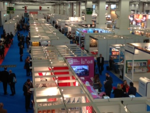 Hall 6 at the Frankfurt Book Fair