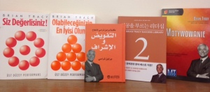 A sampling of some Brian Tracy translations already on the market