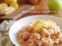 apple lemon breakfast
