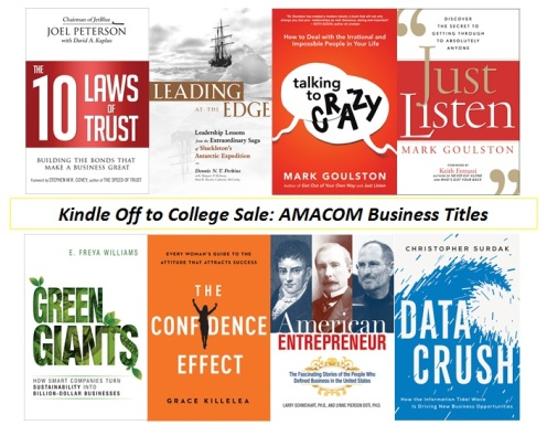 kindle off to college 2016 - business books
