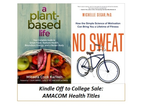 kindle off to college 2016 - health books